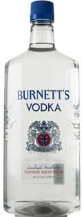 Burnett's Vodka 80@ 1.75l